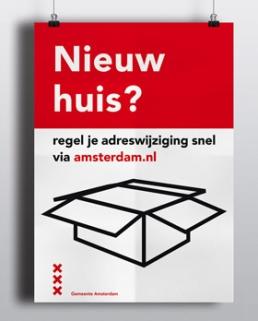 affiche campagne gemeente amsterdam - Pictogrammen Iconen Beeldtaal ontwerper visual designer carmen nutbey