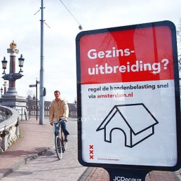Abricampaign in The City of Amsterdam - dutch designer Carmen Nutbey