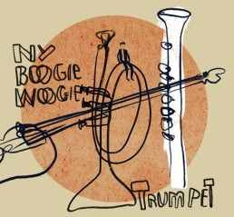 ny boogie woogie - illustratie illustration dutch illustrator carmen nutbey amsterdam nederland netherlands