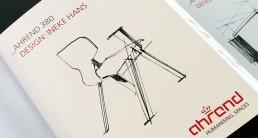 Ahrend corporate branding - leaflet ontwerper carmen nutbey