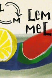 Meloen en Citroen - illustratie illustration dutch illustrator carmen nutbey amsterdam nederland netherlands