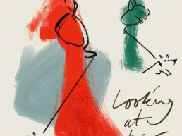Mode Fashion illustratie - dutch illustrator Carmen Nutbey