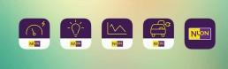 nuon app icons by dutch visual designer carmen nutbey