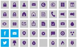 Nuon corporate iconen pictogrammen laten ontwerpen visual designer carmen nutbey