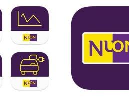 Nuon app icons visual designer carmen nutbey