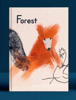 bosdieren illustratie illustration forest animals fox by dutch illustrator carmen nutbey laten maken commission