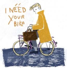 illustratie van illustrator carmen nutbey - nederland amsterdam - dutch