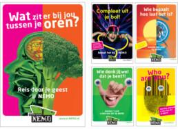 NEMO Science Museum - Amsterdam - Affiche Abri design carmen nutbey designer ontwerper