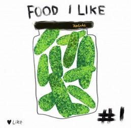 illustratie augurken - pickles - nederlandse amsterdam - dutch illustrator carmen nutbey