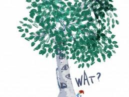 kabouter pist tegen oogboom - amsterdam dutch nederlands illustrator carmen nutbey