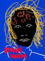 redactionele illustratie nah, niet aangeboren hersenschade - illustrator carmen nutbey editorial braindamage