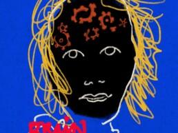 redactionele illustratie nah, niet aangeboren hersenschade - illustrator carmen nutbey