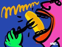 illustratie illustration guilty pleasures image - dutch illustrator carmen nutbey - nederland - editorial redactioneel