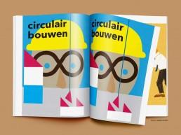 circulair bouwen illustratie illustration illustrator carmen nutbey circular economy
