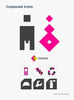 custom made pictogrammen icons - dutch illustrator carmen nutbey