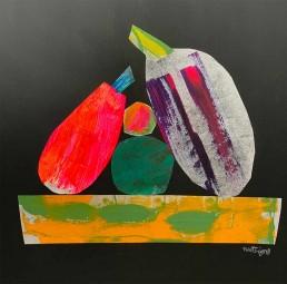 illustratie beterschap fruitschaal fruit bowl illustration colourfull dutch illustrator carmen nutbey