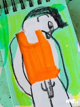 schetsboek illustraties illustrator carmen nutbey