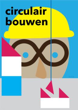 illustratie circulair bouwen - redactioneel editorial illustration - illustrator carmen nutbey amsterdam