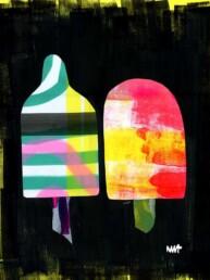ijs waterijs illustratie illustrator carmen nutbey amsterdam redactionele