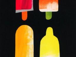 foodillustration foodillustrator popsicles waterijs - illustrator carmen nutbey amsterdam dutch nederland