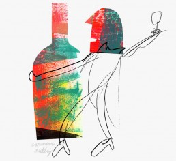 dutch adults drink less alcohol- redactioneel illustrator carmen nutbey nederland dutch