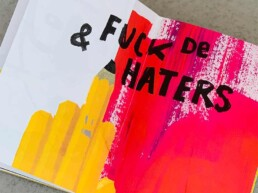 Fuck de haters - illustraties carmen nutbey dutch nederlands illustrator