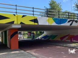 muurschildering murals amsterdam reigersbos - dutch illustrator visual artist carmen nutbey