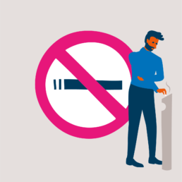 no smoking illustration illustrator carmen nutbey amsterdam