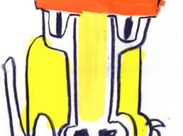 Lionking illustratie illistration - illustrator carmen nutbey