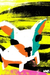illustratie stichting contacthond dogs - illustrator carmen nutbey - redactioneel - redactionele - editorial - hondenmens