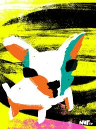 illustratie stichting contacthond dogs - illustrator carmen nutbey - redactioneel - redactionele - editorial - hondenmens