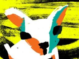 hond dog stichting contacthond - illustratie illustration illustrator carmen nutbey - amsterdam