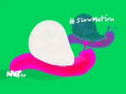 illustratie slakken - illustration snails - slowmotion - slow - langzaam - illustrator carmen nutbey amsterdam nederland