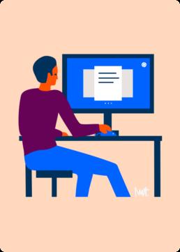 web illustratie - inzicht en overzicht - woningcorporatie de alliantie - illustrator carmen nutbey