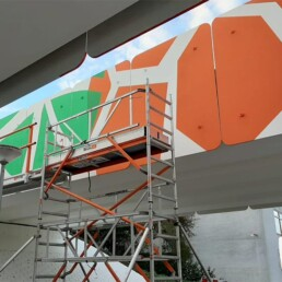 muurschildering murals ravenswaaipad amsterdam reigersbos - dutch illustrator visual artist illustrator carmen nutbey