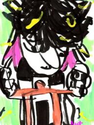 illustratie spinfiets spinning - illustration spinbike - editorial illustrator carmen nutbey redactioneel - amsterdam dutch