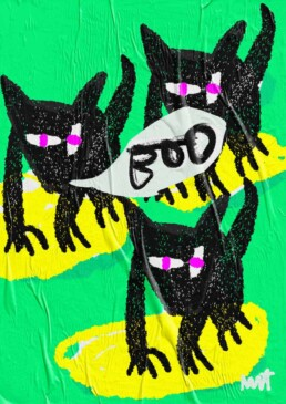 illustration dog or wolf illustrator carmen nutbey amsterdam